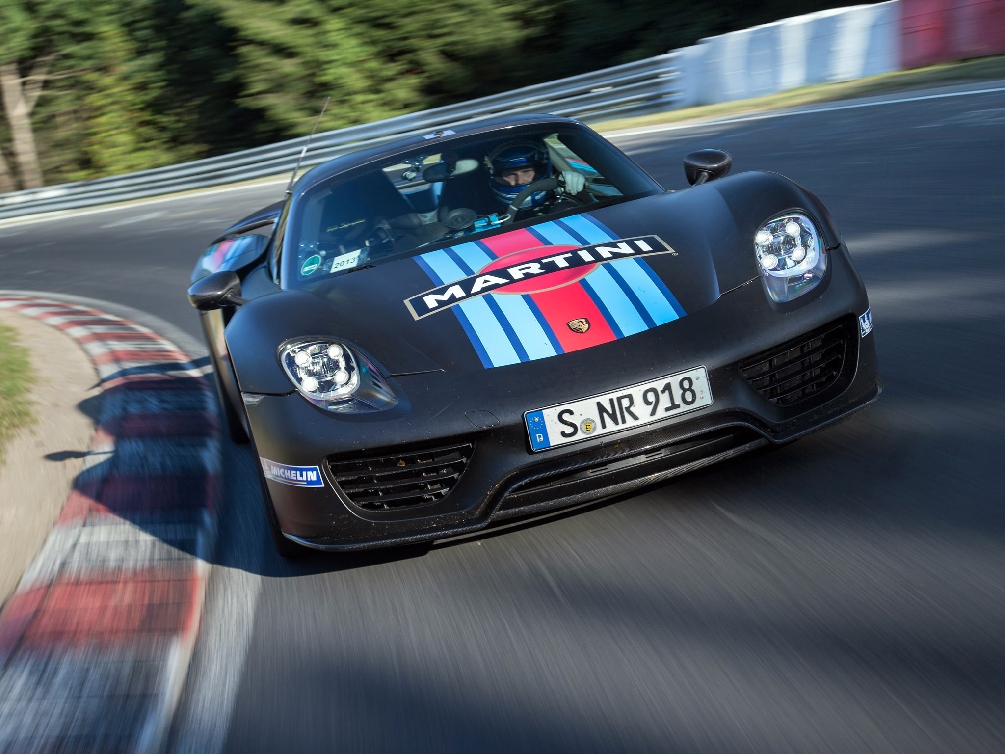 2014 Porsche 918 Spyder Martini Racing Gs Wallpaper