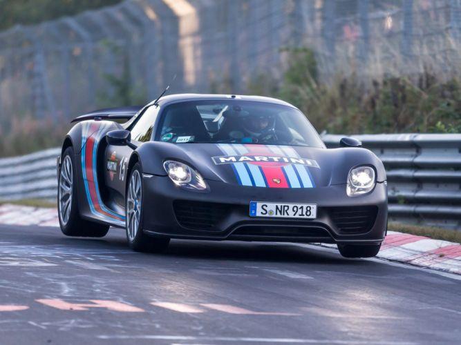2014 Porsche 918 Spyder Martini Racing supercar gf wallpaper