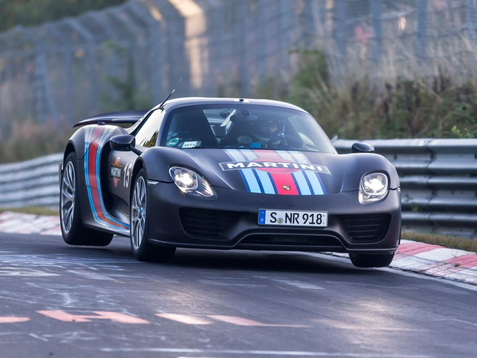 2014 Porsche 918 Spyder Martini Racing Supercar Gf Wallpaper