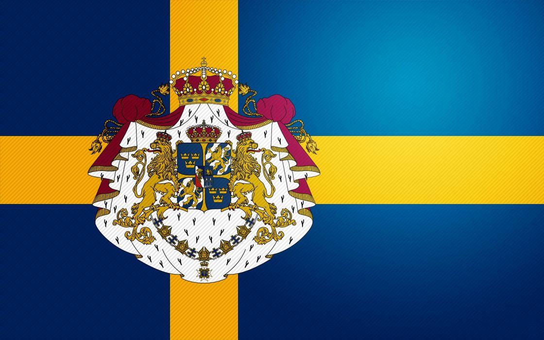 Sweden Flag wallpaper