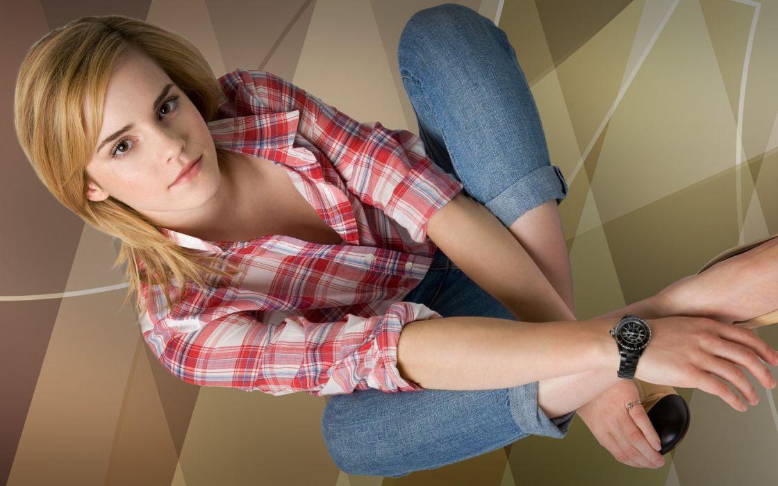 Emma Watson Woman Girl Actress Blonde wallpaper