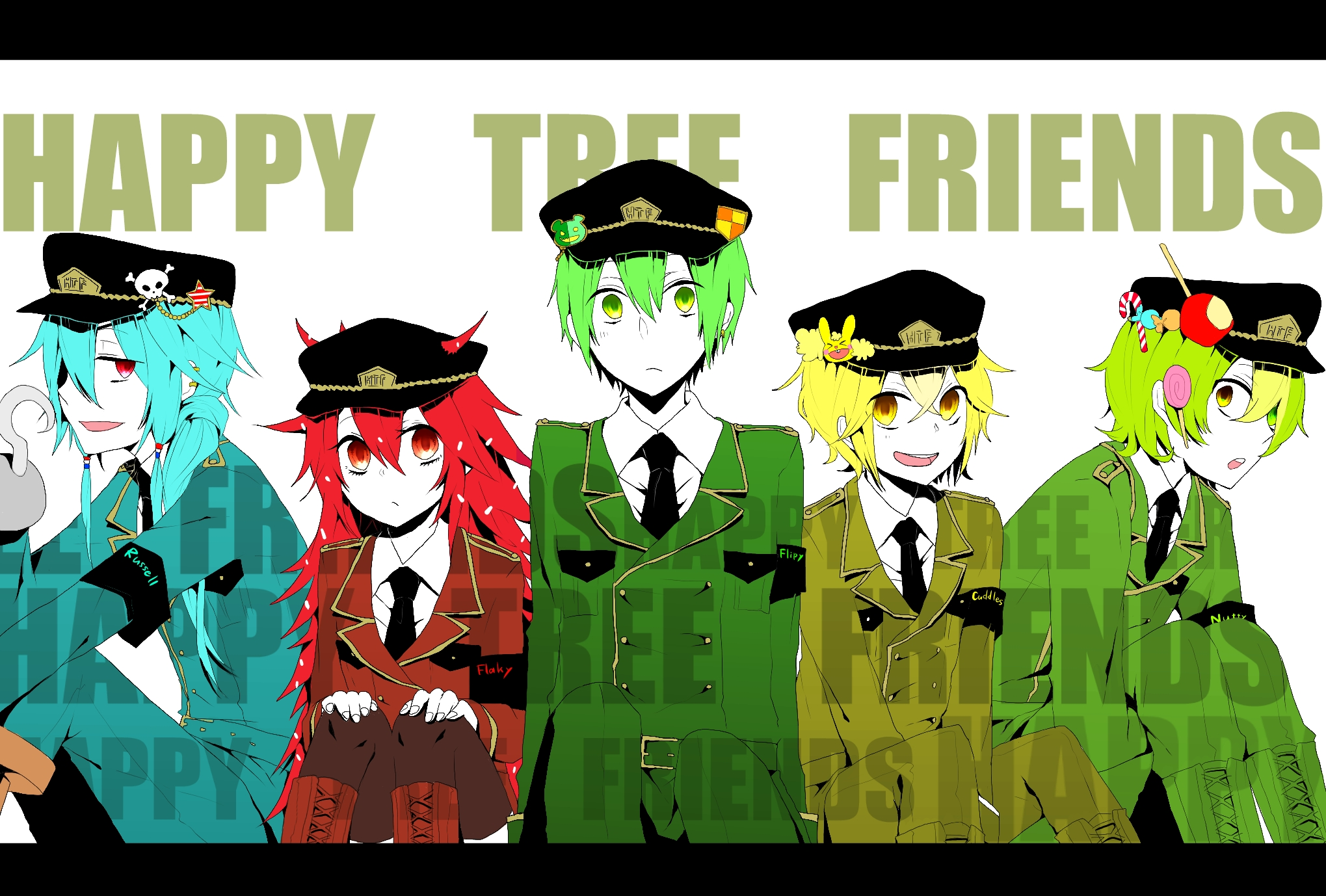 Pictures Of Happy Tree Friends Anime Wallpaper Rock Cafe