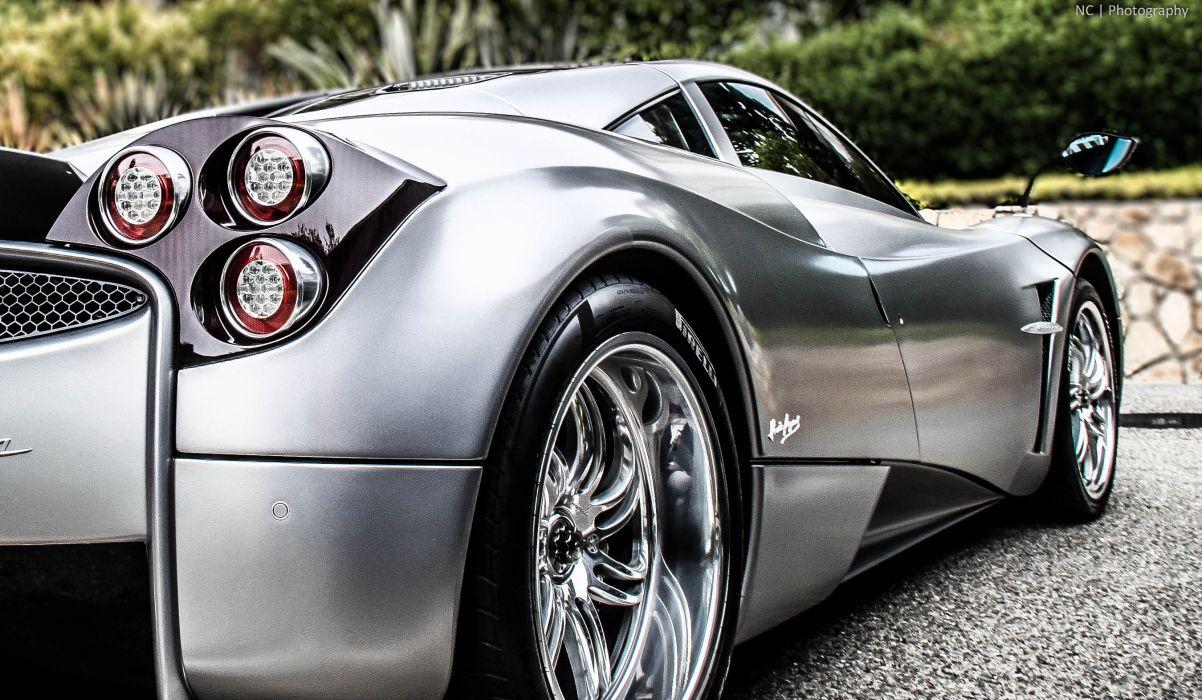 Pagani huayra supercar silver wheel wallpaper
