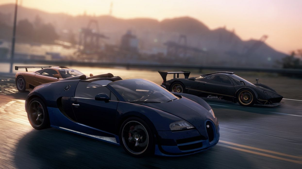 Supercar Need For Speed Most Wanted 2012 Veyron Grand Sport