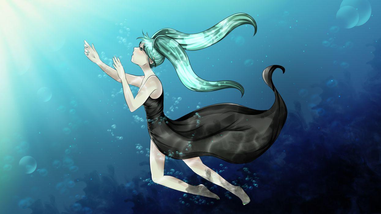 Vocaloid Deep-Sea Girl wallpaper