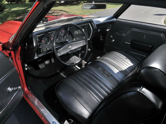 1970 Chevrolet Chevelle SS 454 LS6 Hardtop Coupe muscle classic s-s interior g wallpaper