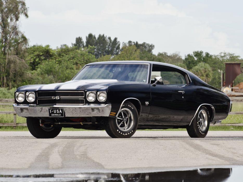 1970 Chevrolet Chevelle SS 454 LS6 Hardtop Coupe muscle classic s-s   gs wallpaper