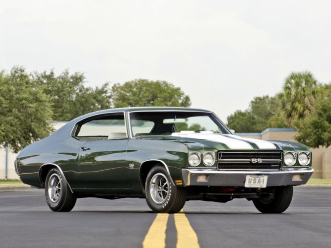 1970 Chevrolet Chevelle SS 454 LS6 Hardtop Coupe muscle classic s-s c wallpaper