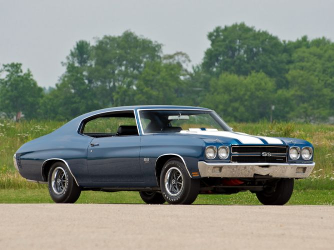 1970 Chevrolet Chevelle SS 454 LS6 Hardtop Coupe muscle classic s-s wallpaper