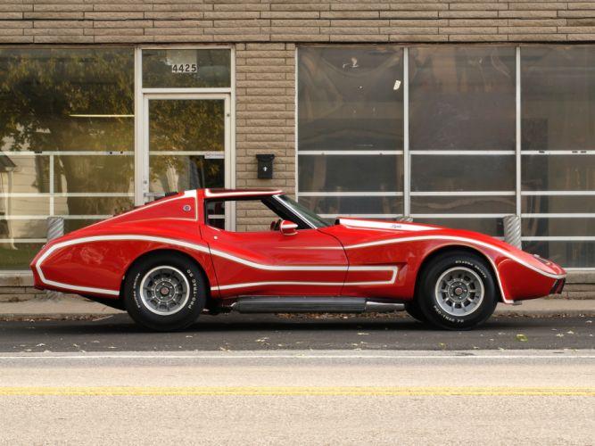 1974 Motion Can-Am Chevrolet Corvette Spyder Prototype C-3 supercar muscle classic wallpaper