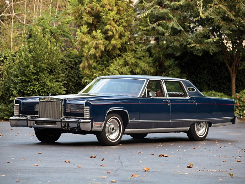1976 Lincoln Continental Town Car Luxury Wallpaper 2048x1536