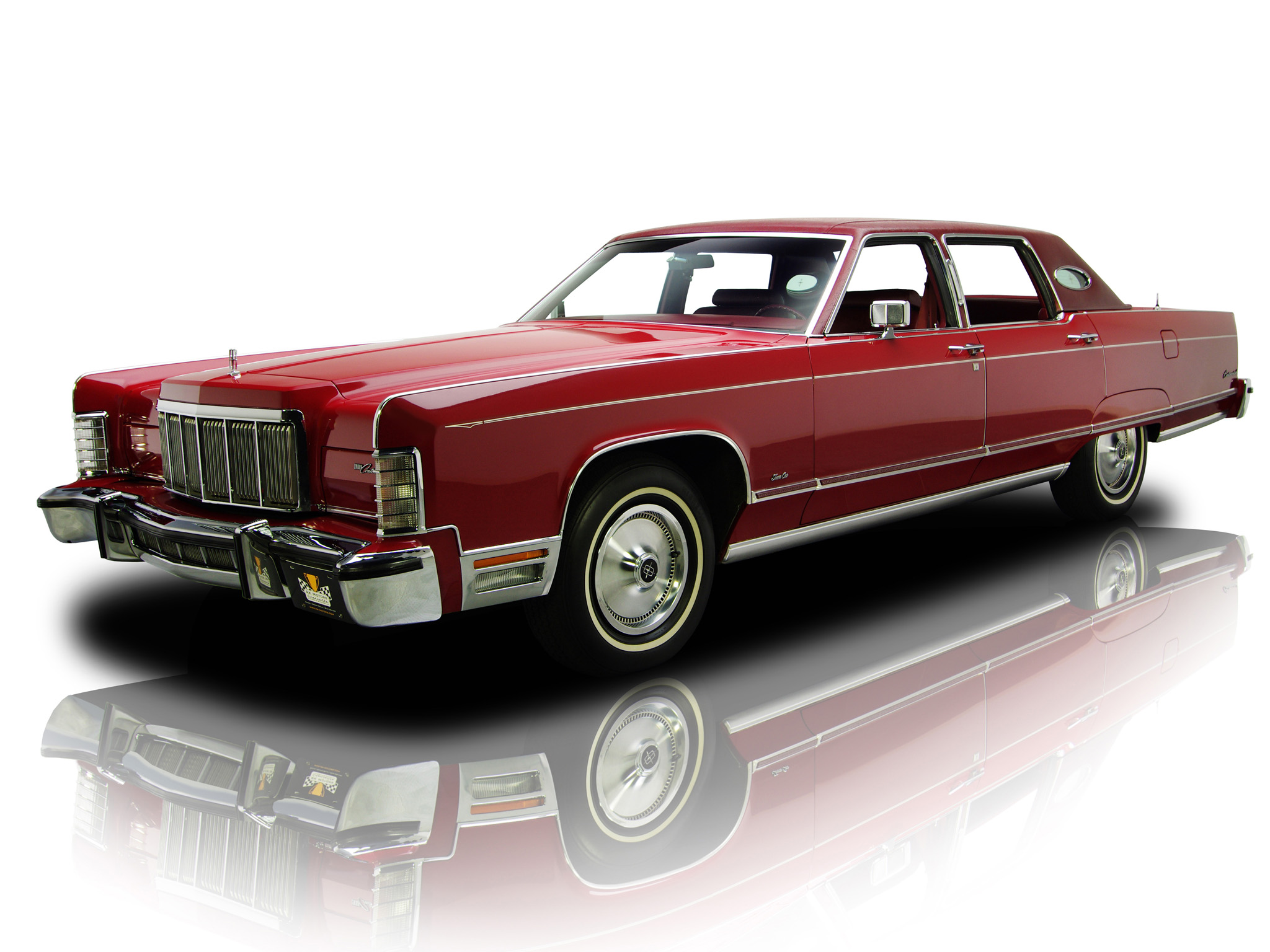 1976 Lincoln Continental Town Car Luxury Gd Wallpaper 2048x1536