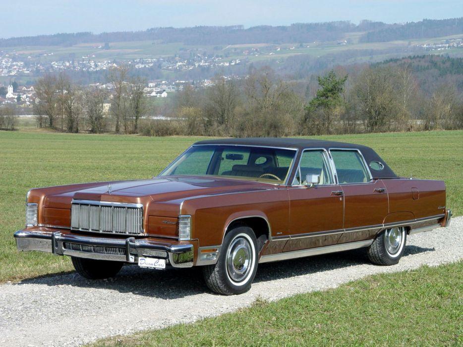 Lincoln Town Car Luxury Sedan Best: 1976 Lincoln Continental Town Car Luxury H Wallpaper