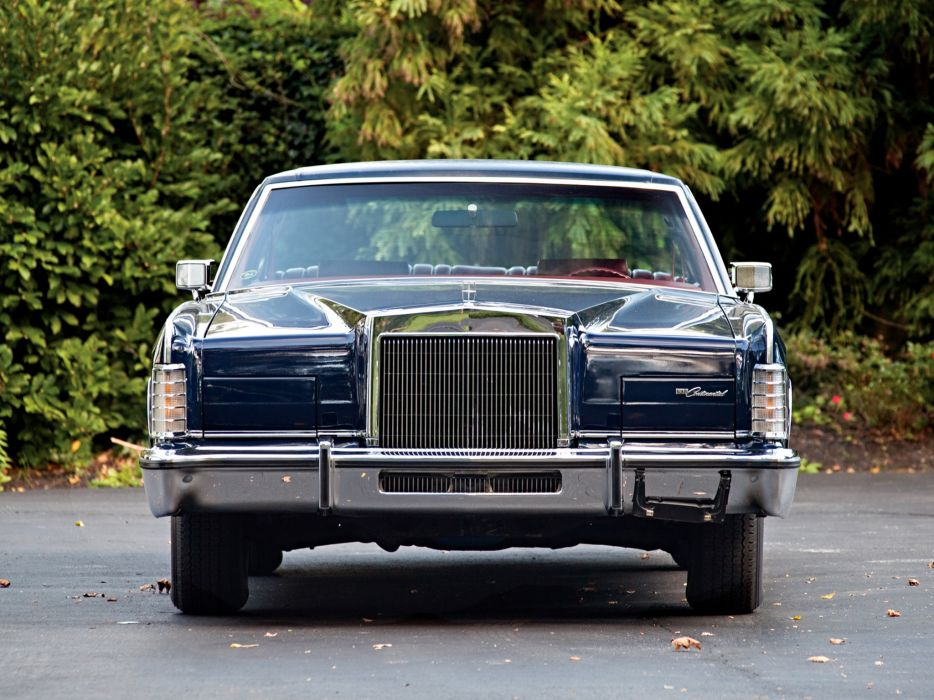 1976 Lincoln Continental Town Car luxury  g wallpaper