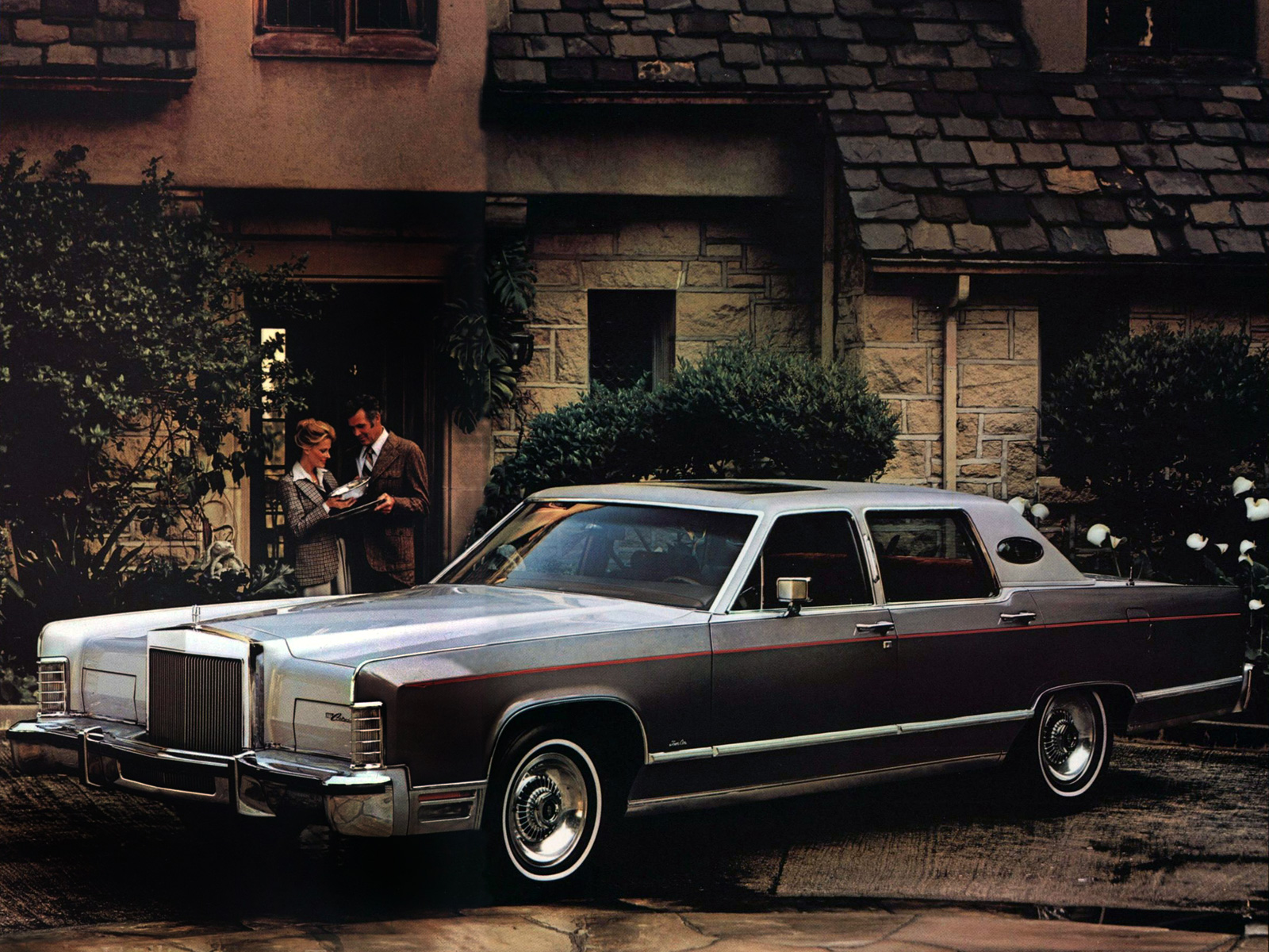1976 Lincoln Continental Town Car Luxury J Wallpaper