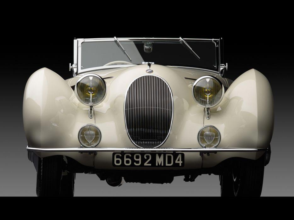 1936 Talbot Lago T150C Cabriolet by Figoni & Falaschi retro   g wallpaper