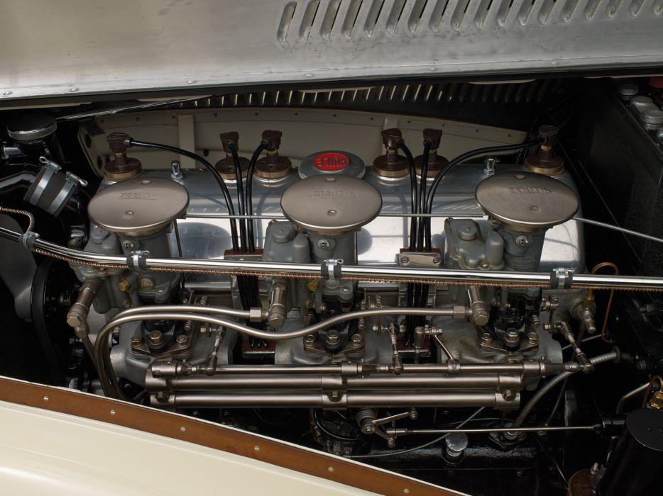 1936 Talbot Lago T150C Cabriolet by Figoni & Falaschi retro engine wallpaper