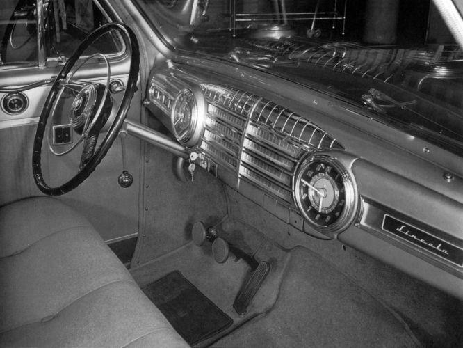1946 Lincoln Series-66H Sedan 73 retro 7-3 interior g wallpaper