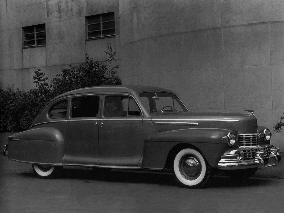 1946 Lincoln Series-66H Sedan 73 retro 7-3 wallpaper