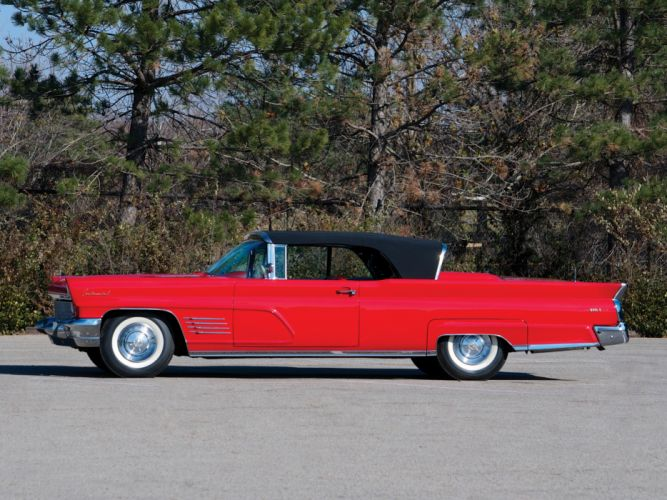 1960 Lincoln Continental Mark-V Convertible 68A classic luxury d wallpaper