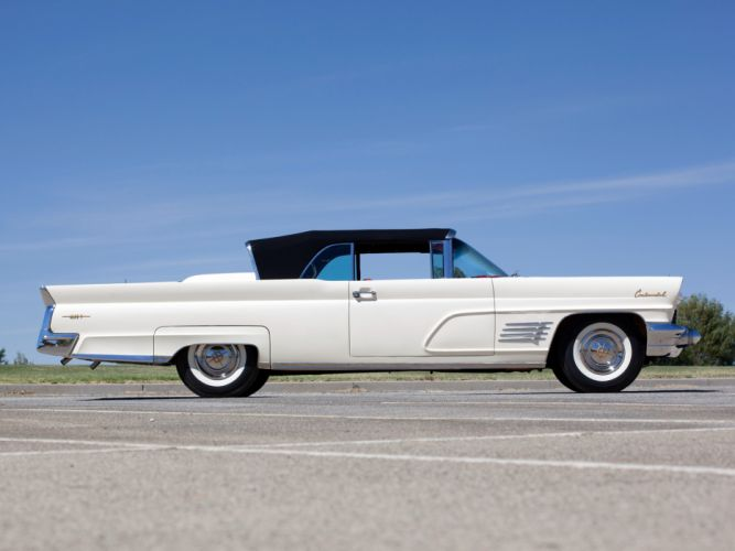 1960 Lincoln Continental Mark-V Convertible 68A classic luxury j wallpaper