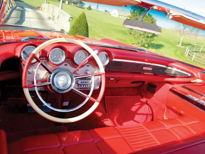 1960 Lincoln Continental Mark-V Convertible 68A classic luxury interior g wallpaper