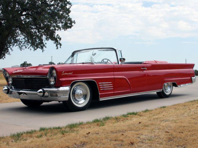 1960 Lincoln Continental Mark-V Convertible 68A classic luxury fs wallpaper