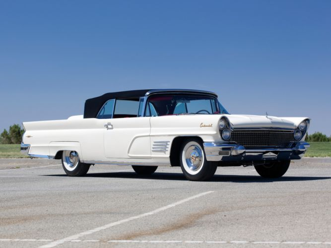1960 Lincoln Continental Mark-V Convertible 68A classic luxury wallpaper