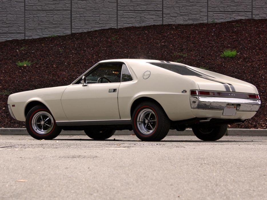 1968 AMC AMX muscle classic  f wallpaper