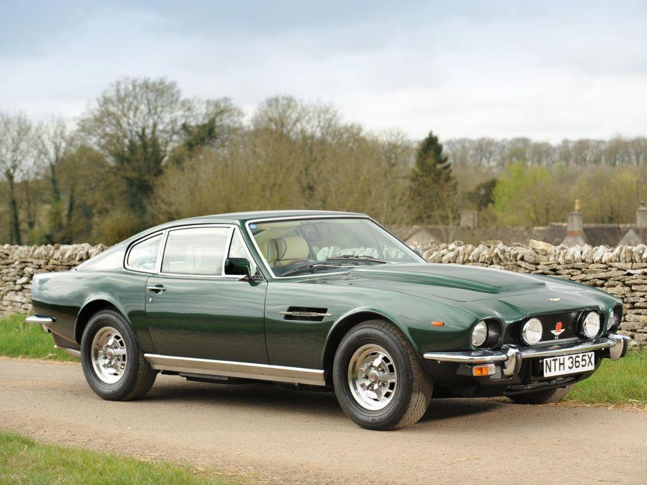 1977 Aston Martin V8 Vantage UK-spec muscle supercar v-8     gh wallpaper