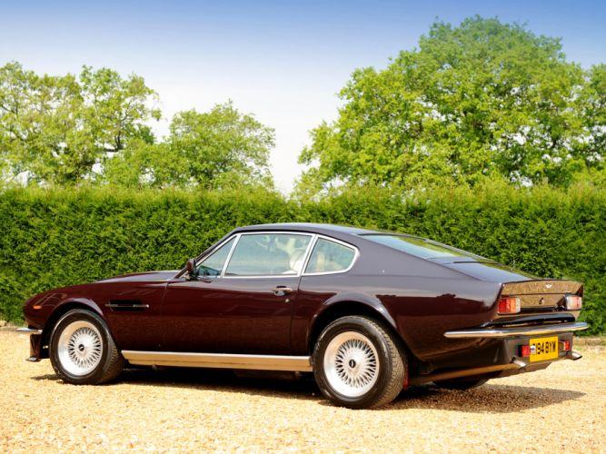 1977 Aston Martin V8 Vantage UK-spec muscle supercar v-8 u wallpaper