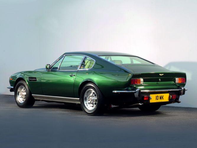 1977 Aston Martin V8 Vantage UK-spec muscle supercar v-8 h wallpaper