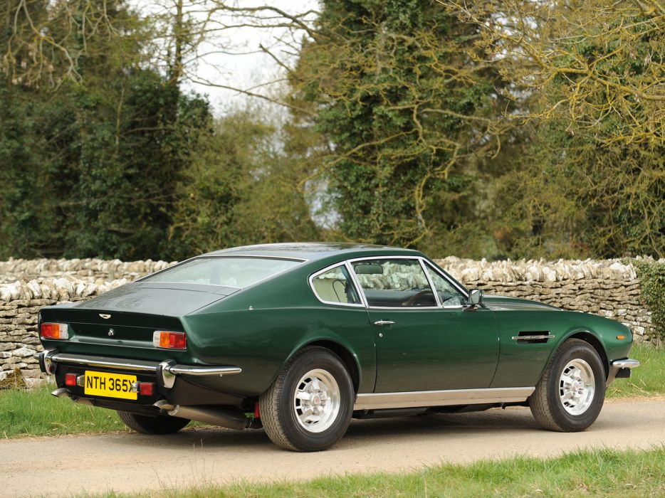 1977 Aston Martin V8 Vantage UK-spec muscle supercar v-8 l wallpaper