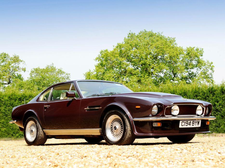 1977 Aston Martin V8 Vantage UK-spec muscle supercar v-8   lf wallpaper