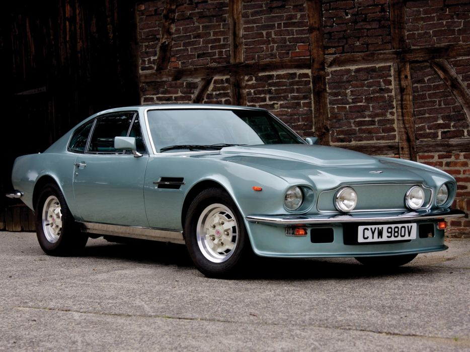 1977 Aston Martin V8 Vantage UK-spec muscle supercar v-8  k wallpaper