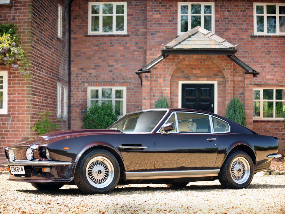 1977 Aston Martin V8 Vantage UK-spec muscle supercar v-8  m wallpaper