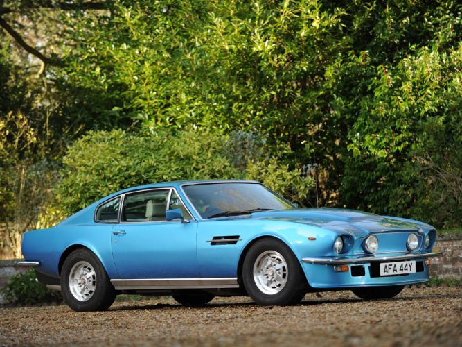 1977 Aston Martin V8 Vantage UK-spec muscle supercar v-8 i wallpaper