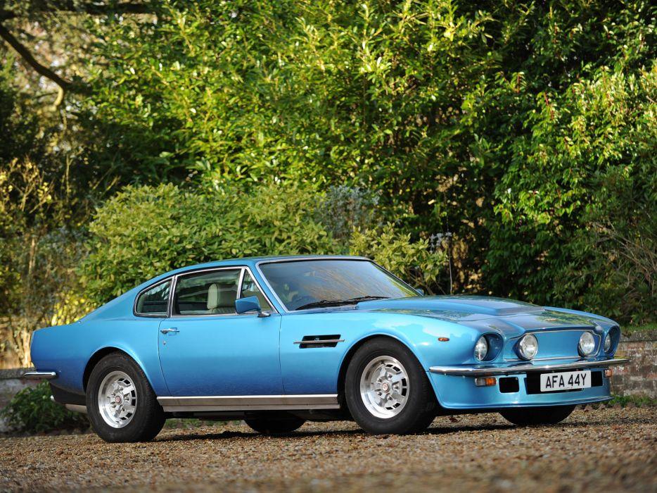 1977 Aston Martin V8 Vantage UK-spec muscle supercar v-8  i wallpaper
