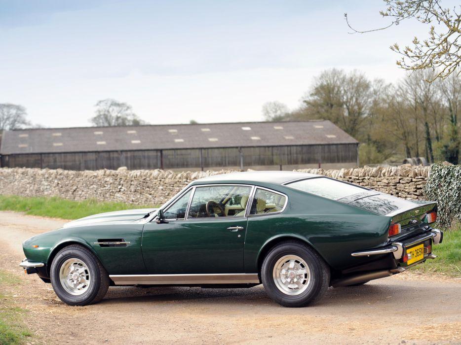 1977 Aston Martin V8 Vantage UK-spec muscle supercar v-8  n wallpaper