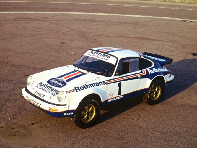 1983 Porsche 911 Carrera 3_2 4x4 Paris-Dakar 953 offroad rally race racing wallpaper