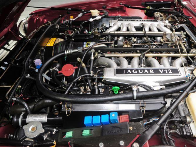 1991 Jaguar XJS Convertible luxury engine f wallpaper