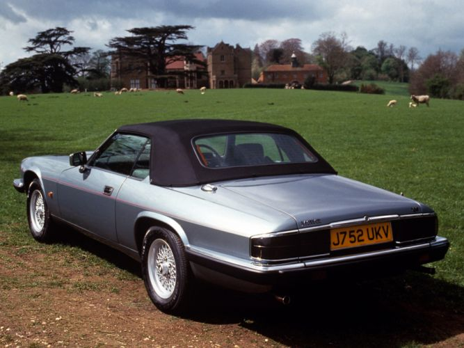 1991 Jaguar XJS Convertible luxury f wallpaper