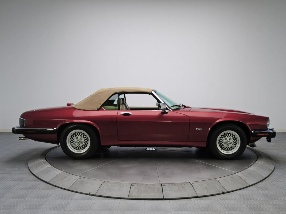 1991 Jaguar XJS Convertible luxury f wallpaper