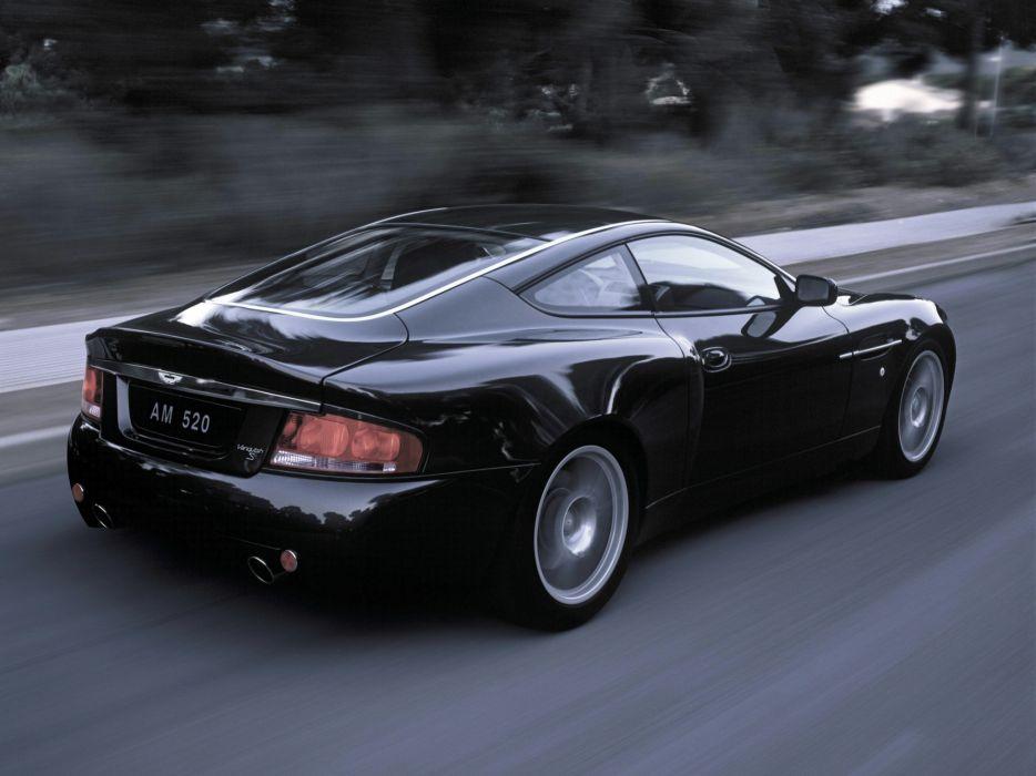 2004 Aston Martin V12 Vanquish S wallpaper