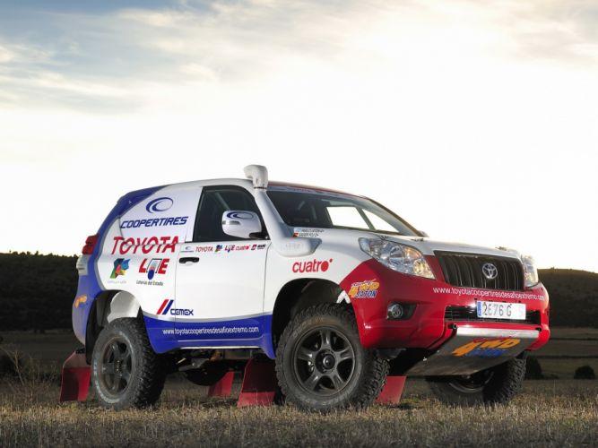 2011 Toyota Land Cruiser Prado KXR Dakar J155W 4x4 offroad rally race racing wallpaper