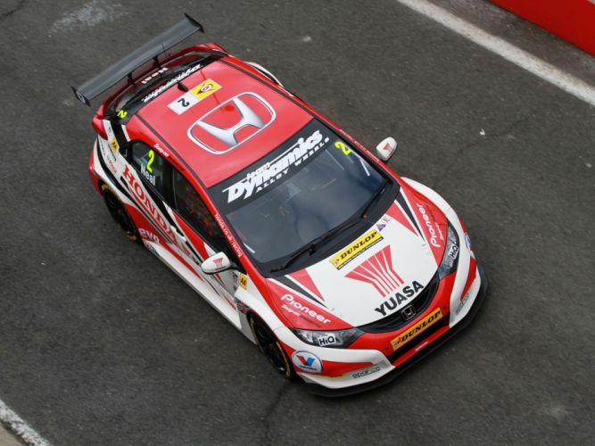 2012 Honda Civic BTCC race racing h wallpaper