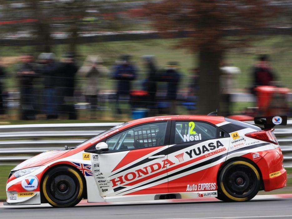 2012 Honda Civic BTCC race racing   g wallpaper