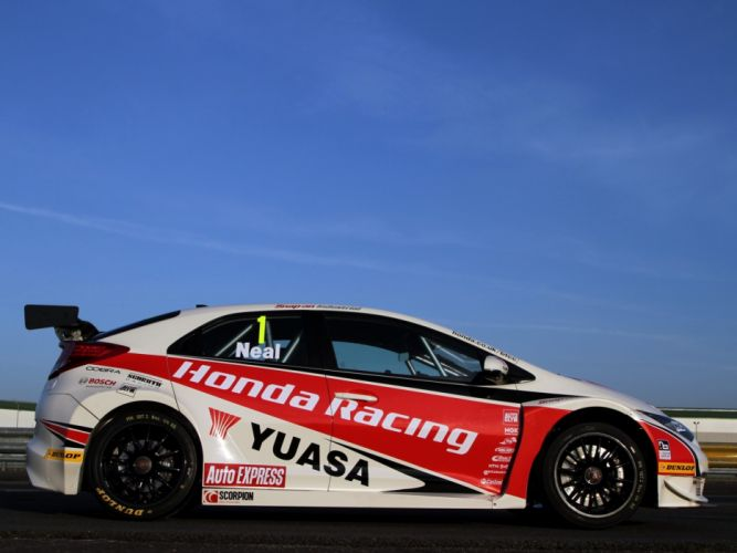 2012 Honda Civic BTCC race racing gs wallpaper