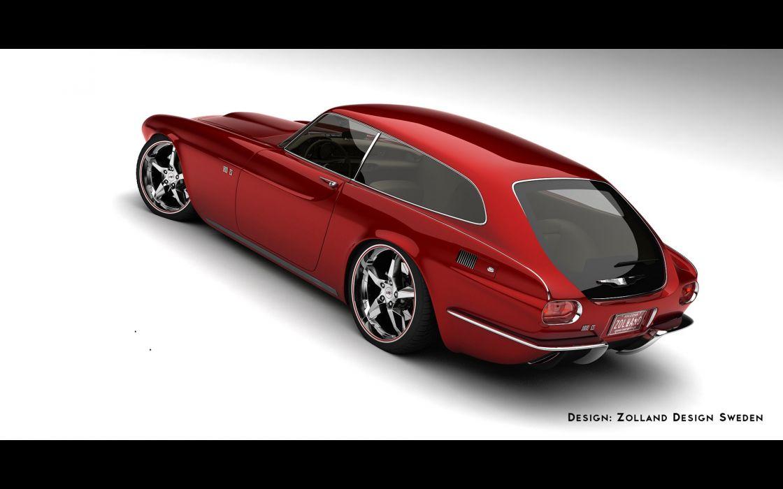 2013 1800 ZES Concept Design by Zolland Design supercar    fo wallpaper