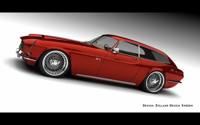2013 1800 ZES Concept Design by Zolland Design supercar n wallpaper